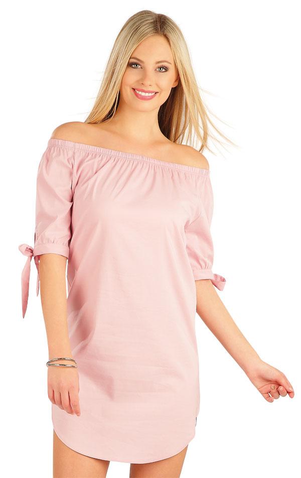 Šaty dámske s krátkym rukávom. 58037 | Šaty a sukne LITEX