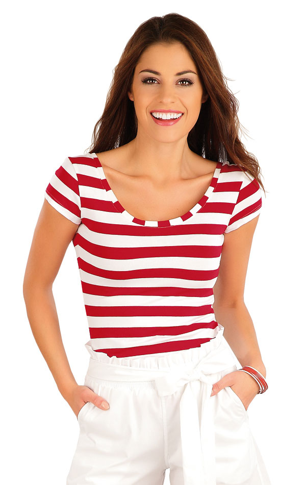 Tričko dámske s krátkym rukávom. 58053   Tričká, topy, tielka LITEX
