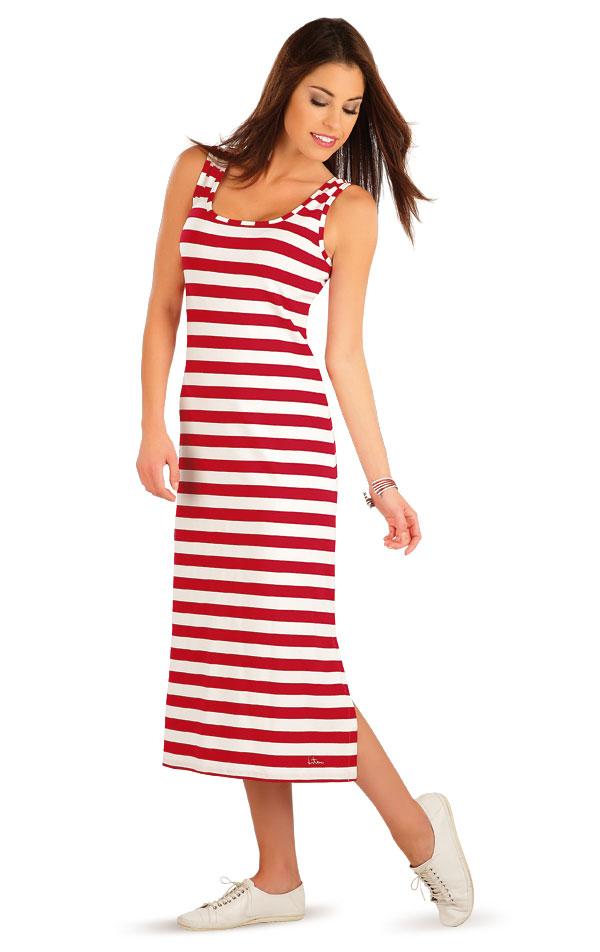 Šaty dámske dlhé bez rukávov. 58054 | Šaty a sukne LITEX