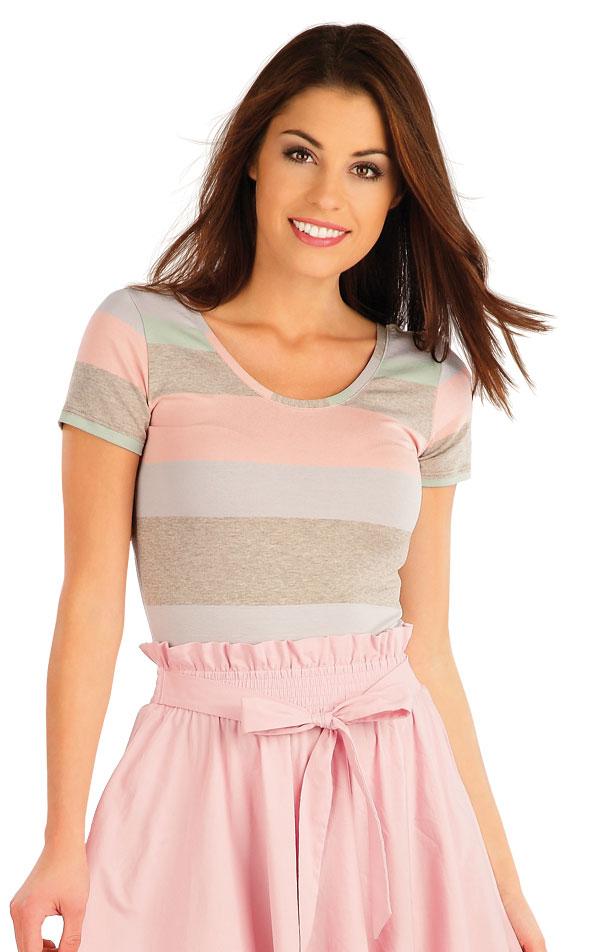 Tričko dámske s krátkym rukávom. 58057 | Tričká, topy, tielka LITEX