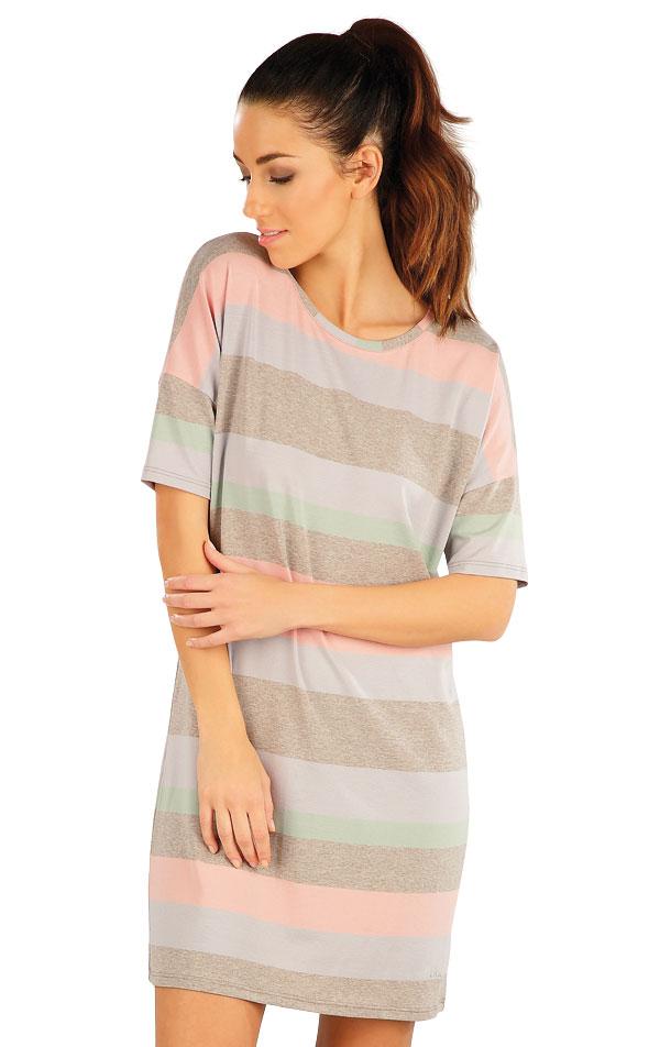 Šaty dámske s krátkym rukávom. 58059 | Šaty a sukne LITEX