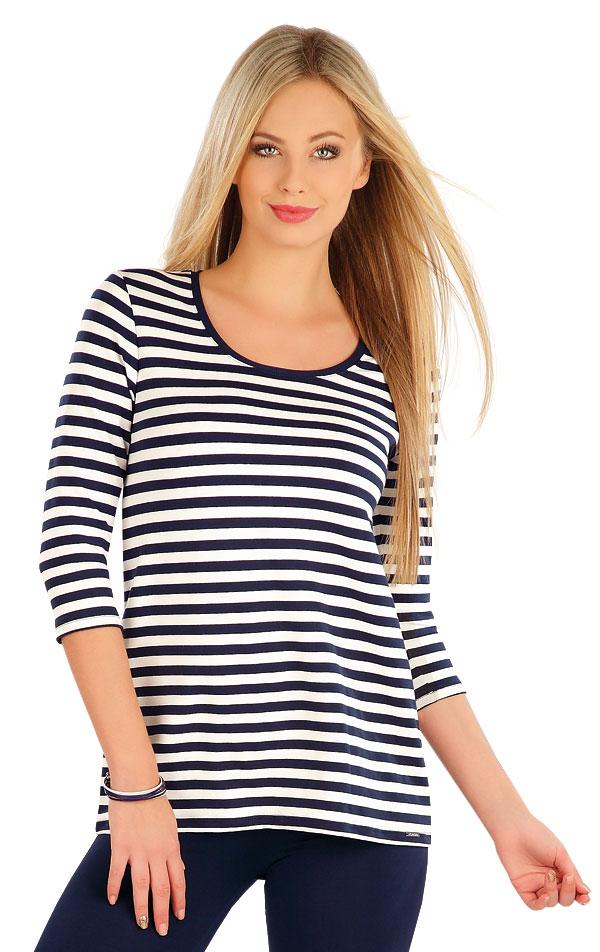 Tričko dámske s 3/4 rukávom. 58062 | Športové oblečenie -  zľava LITEX