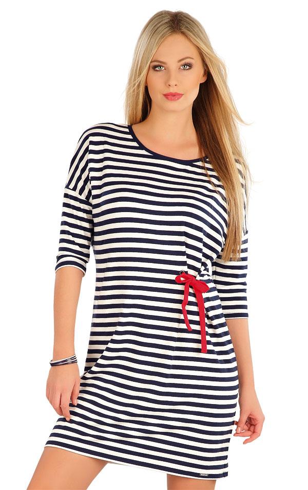 Šaty dámske s 3/4 rukávom. 58065 | Šaty a sukne LITEX
