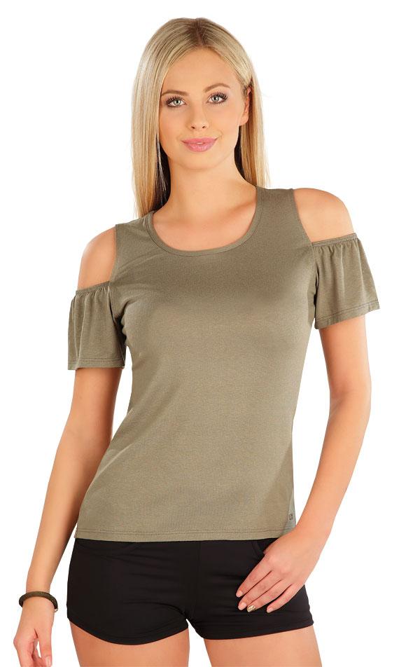 Tričko dámske s krátkym rukávom. 58076 | Tričká, topy, tielka LITEX