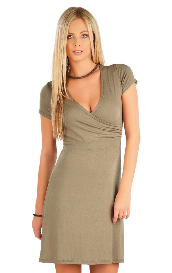 Šaty dámske s krátkym rukávom. 58078 | Šaty a sukne LITEX