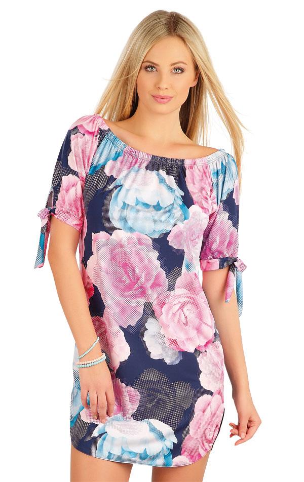 Šaty dámske s krátkym rukávom. 58091 | Šaty a sukne LITEX