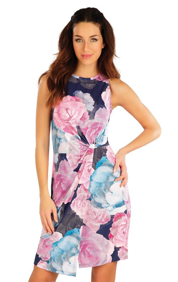 Šaty dámske bez rukávov. 58093 | Šaty a sukne LITEX