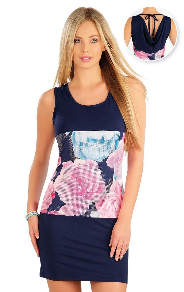 Šaty dámske bez rukávov. 58094   Šaty a sukne LITEX
