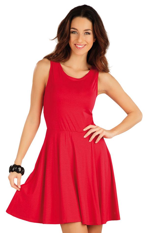 Šaty dámske bez rukávov. 58128   Šaty a sukne LITEX