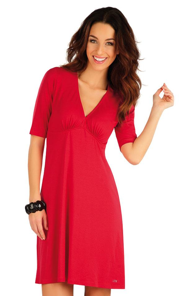 Šaty dámske s krátkym rukávom. 58129 | Šaty a sukne LITEX
