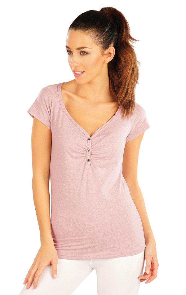 Tričko dámske s krátkym rukávom. 58175 | Športové oblečenie -  zľava LITEX
