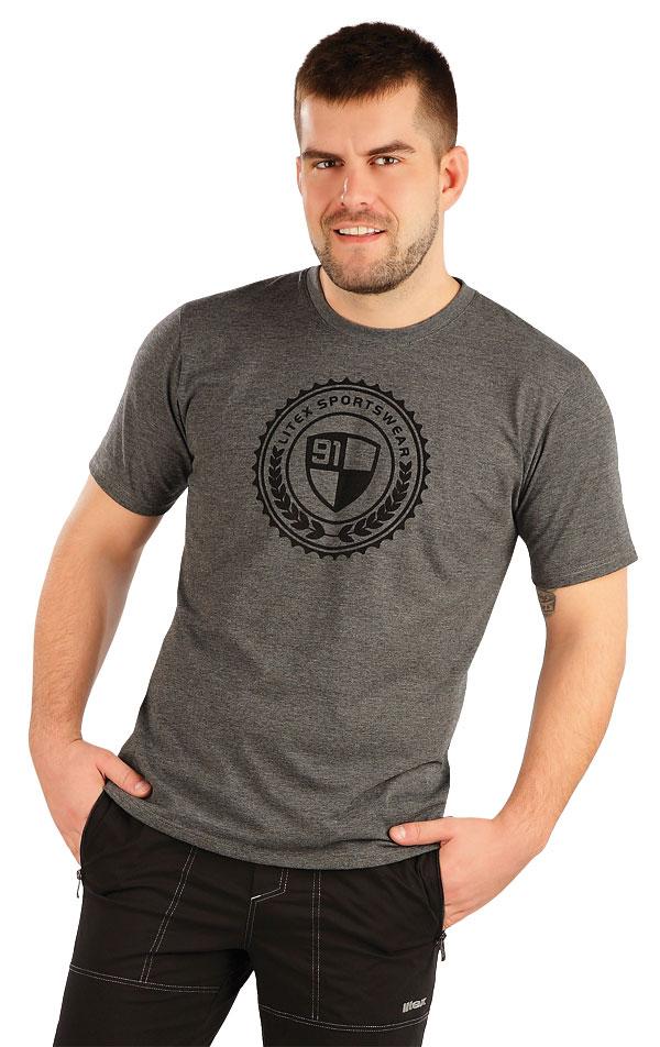 Tričko pánske s krátkym rukávom. 58251   Pánske oblečenie LITEX