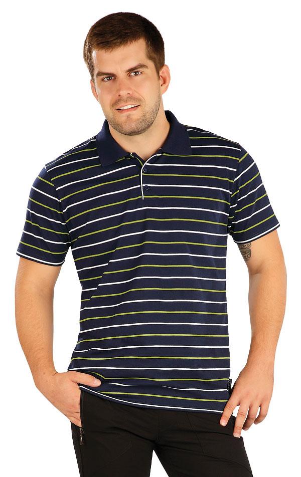 Polo tričko pánske s krátkym rukávom. 58254 | Pánske oblečenie LITEX