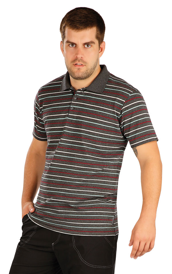 Polo tričko pánske s krátkym rukávom. 58255   Pánske oblečenie LITEX