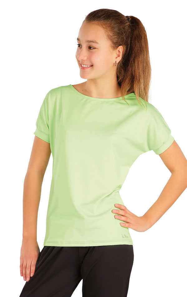 Tričko detské s krátkym rukávom. 58353 | Detské oblečenie LITEX
