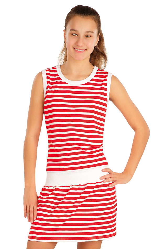 Šaty detské bez rukávov. 58357 | Detské oblečenie LITEX