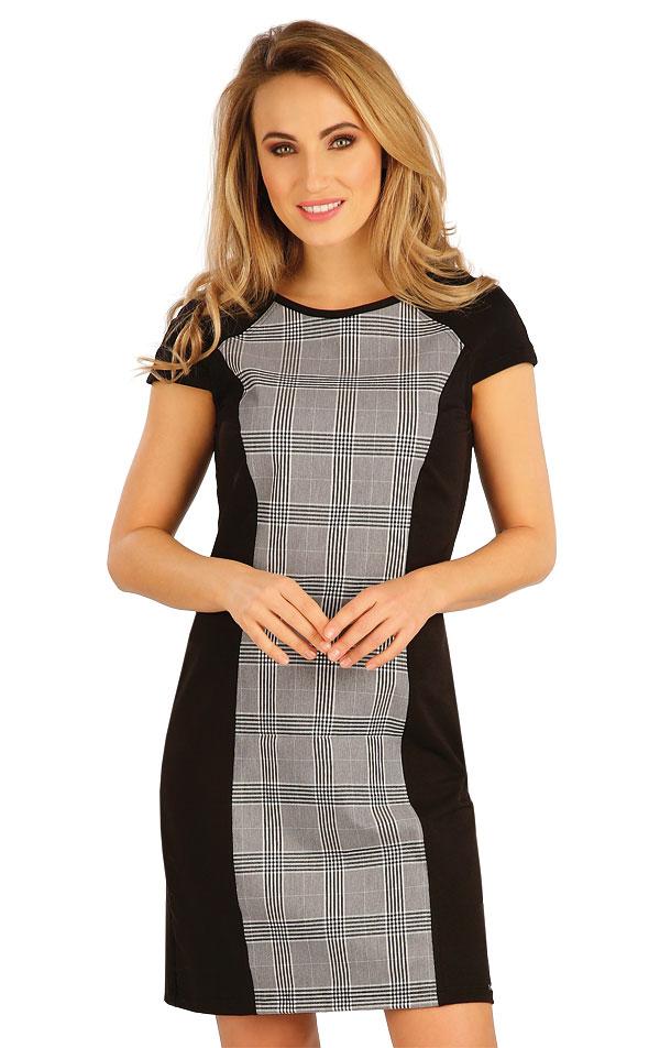 Šaty dámske s krátkym rukávom. 5A002 | Šaty, sukne, tuniky LITEX