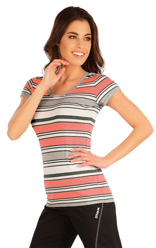 Tričko dámske s krátkym rukávom. 5A008 | Tielka, trička, halenky LITEX