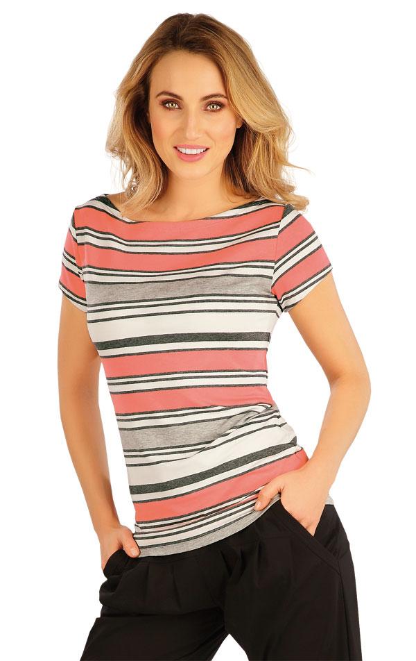 Tričko dámske s krátkym rukávom. 5A009 | Tielka, trička, halenky LITEX