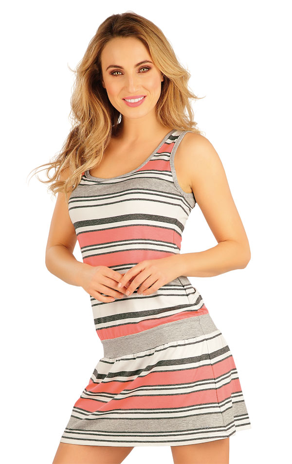 Šaty dámske bez rukávov. 5A010 | Dámske oblečenie -  zľava LITEX
