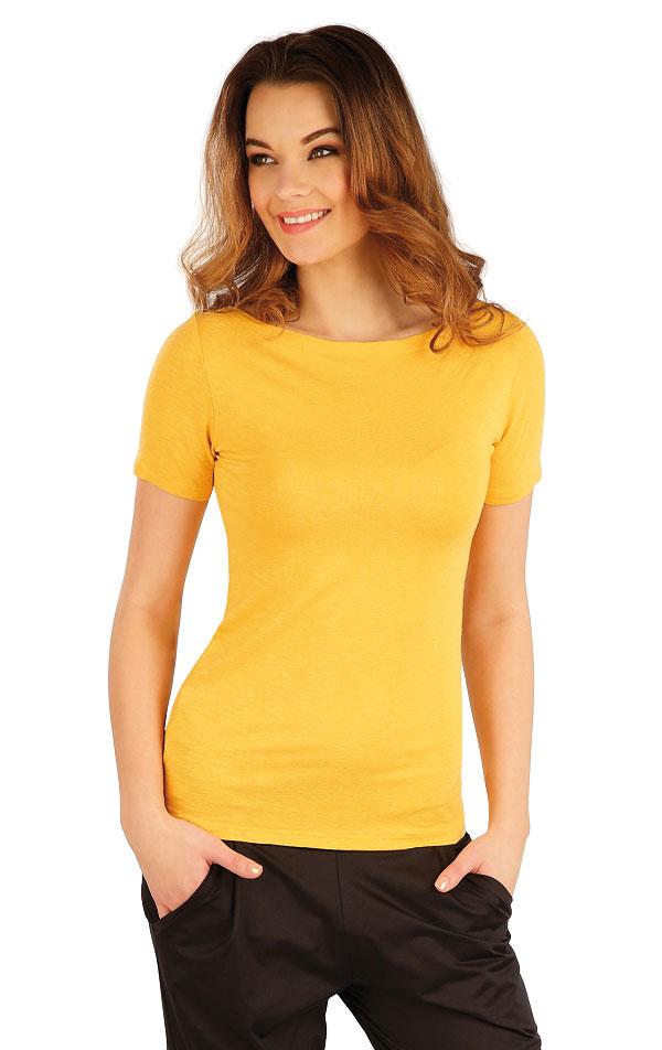 Tričko dámske s krátkym rukávom. 5A015 | Tielka, trička, halenky LITEX