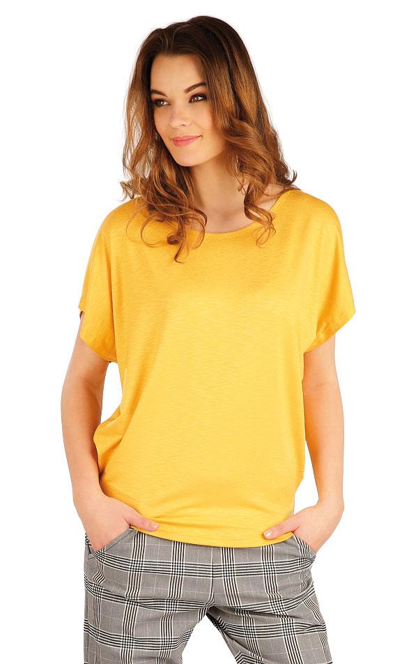 Tričko dámske s krátkym rukávom. 5A016 | Tielka, trička, halenky LITEX