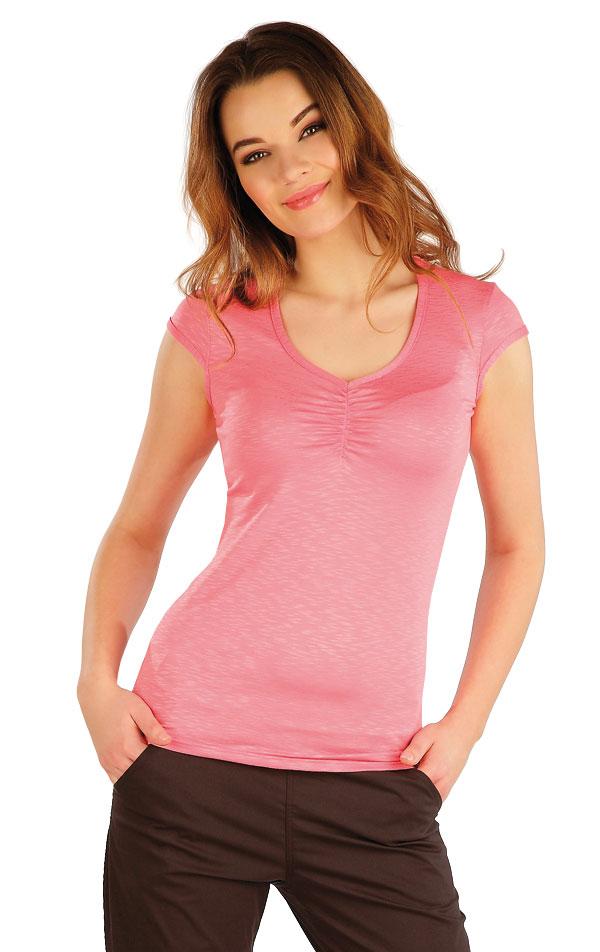 Tričko dámske s krátkym rukávom. 5A021 | Tielka, trička, halenky LITEX
