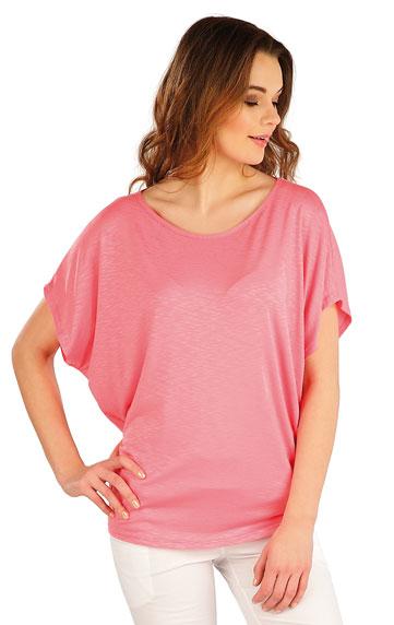 Tielka, trička, halenky > Tričko dámske s krátkym rukávom. 5A022
