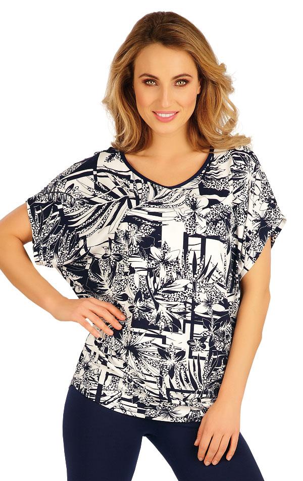Tričko dámske s krátkym rukávom. 5A025 | Tielka, trička, halenky LITEX
