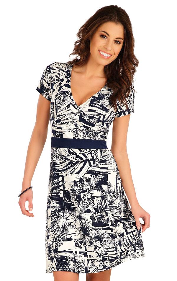 Šaty dámske s krátkym rukávom. 5A027 | Šaty, sukne, tuniky LITEX