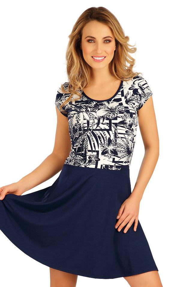 Šaty dámske s krátkym rukávom. 5A028   Šaty, sukne, tuniky LITEX