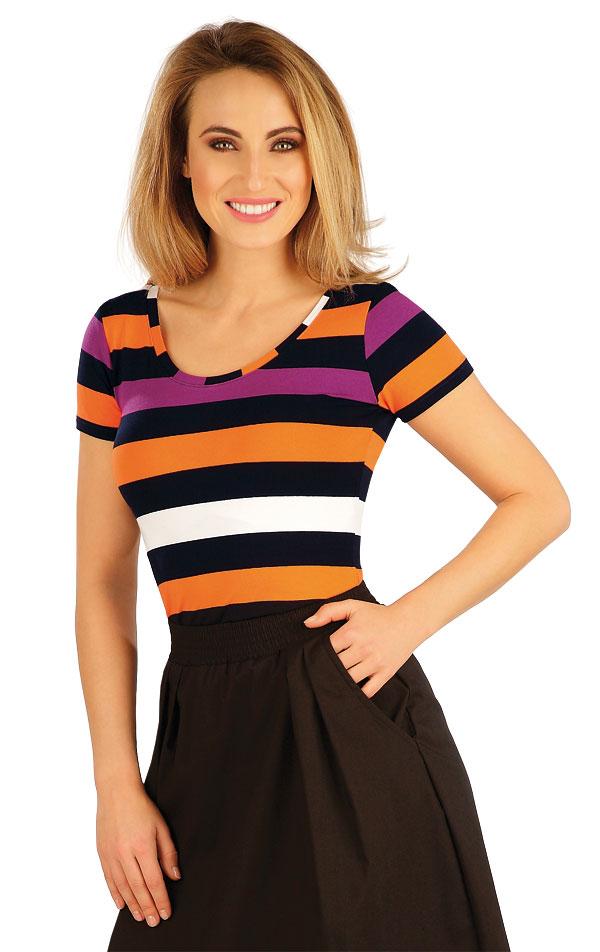 Tričko dámske s krátkym rukávom. 5A033 | Tielka, trička, halenky LITEX