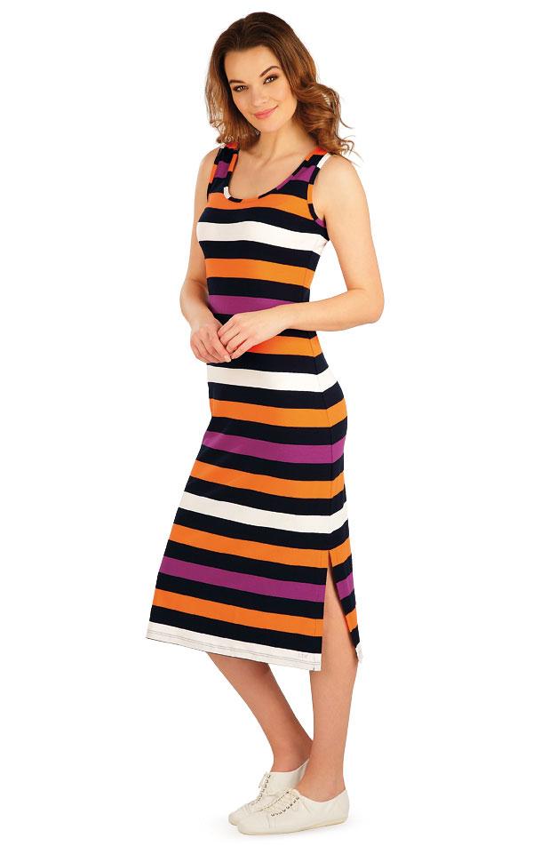 Šaty dámske dlhé bez rukávov. 5A035 | Šaty, sukne, tuniky LITEX