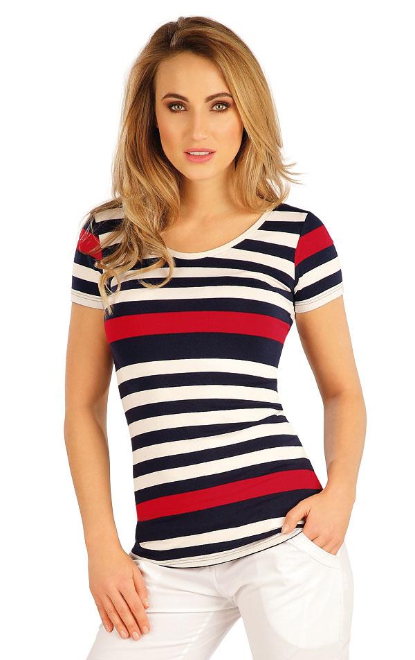 Tričko dámske s krátkym rukávom. 5A039 | Tielka, trička, halenky LITEX