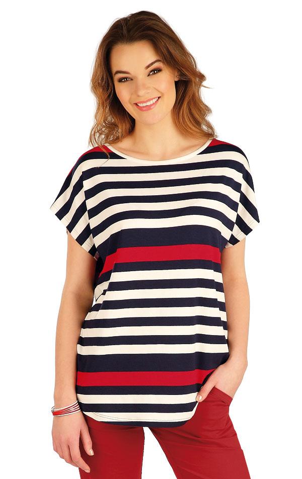 Tričko dámske s krátkym rukávom. 5A040 | Tielka, trička, halenky LITEX