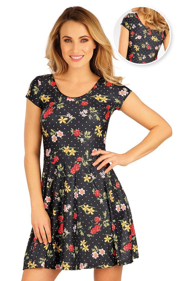 Šaty dámske s krátkym rukávom. 5A056 | Šaty, sukne, tuniky LITEX