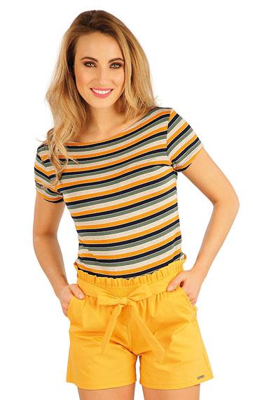 Tielka, trička, halenky > Tričko dámske s krátkym rukávom. 5A061