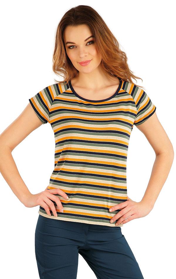 Tričko dámske s krátkym rukávom. 5A062 | Tielka, trička, halenky LITEX