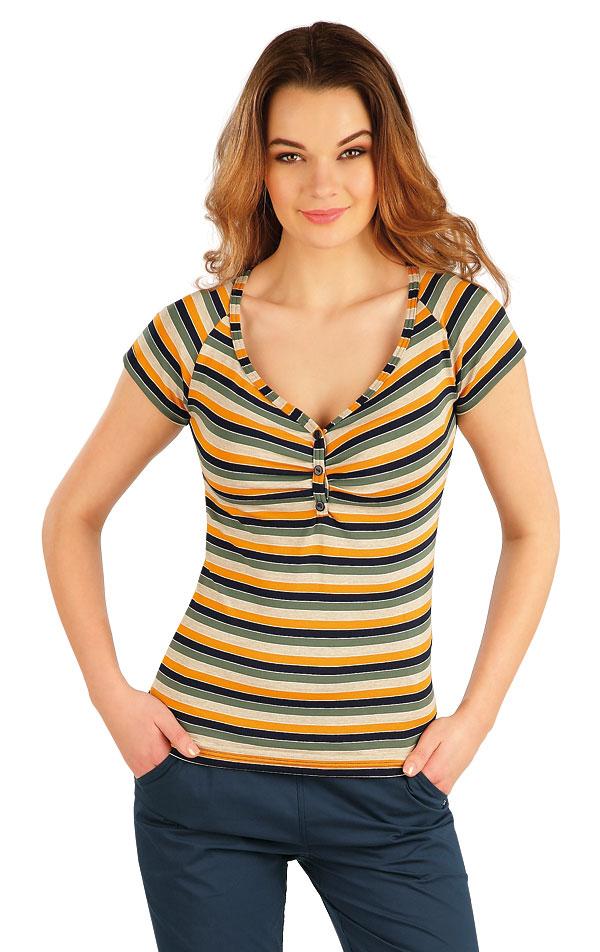 Tričko dámske s krátkym rukávom. 5A063 | Tielka, trička, halenky LITEX