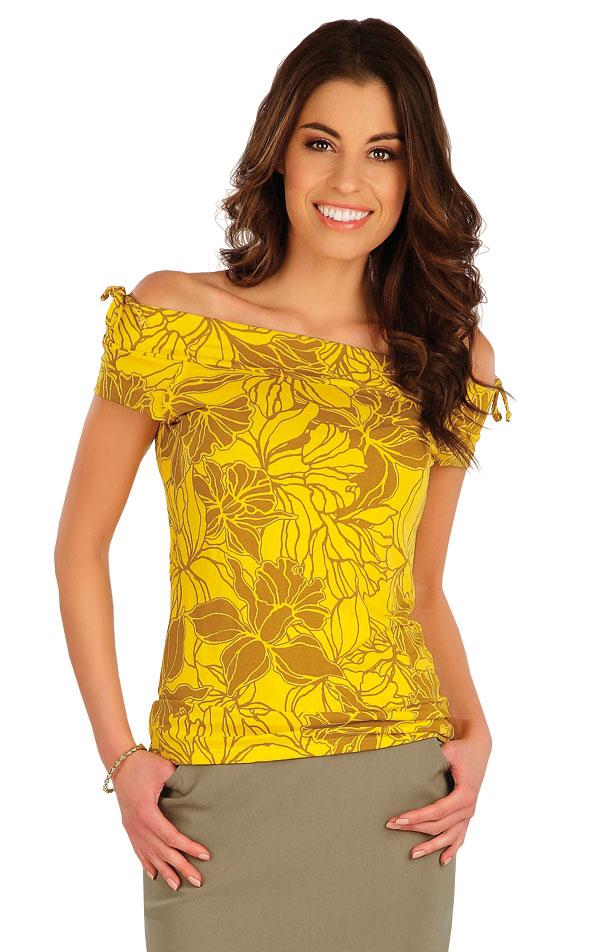 Tričko dámske s krátkym rukávom. 5A074 | Tielka, trička, halenky LITEX