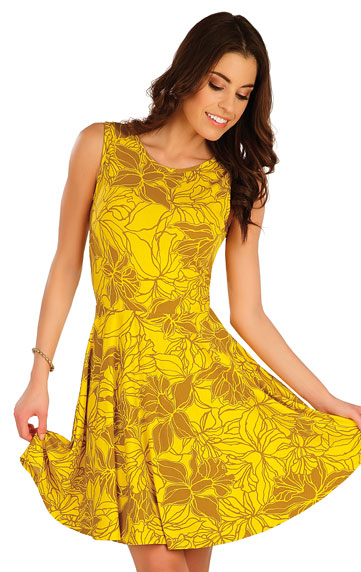Šaty a sukne > Šaty dámske bez rukávov. 5A076