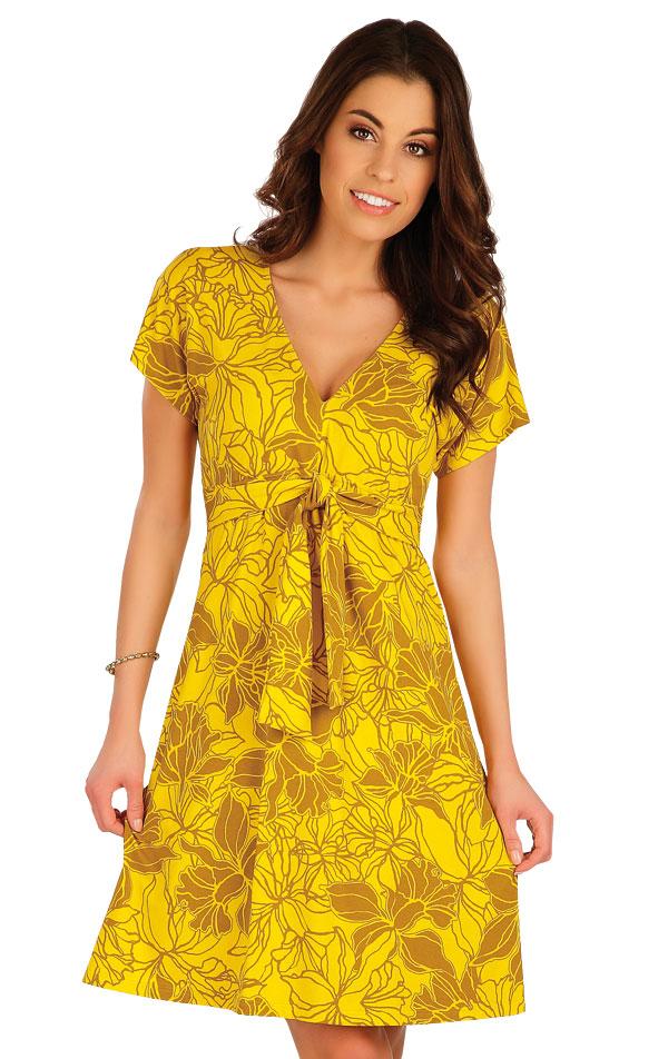 Šaty dámske s krátkym rukávom. 5A077   Šaty, sukne, tuniky LITEX