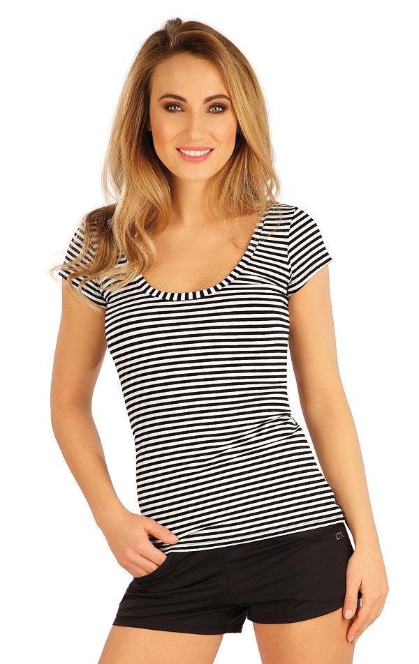 Tričko dámske s krátkym rukávom. 5A081   Tielka, trička, halenky LITEX