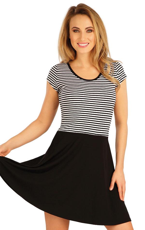 Šaty dámske s krátkym rukávom. 5A083 | Šaty, sukne, tuniky LITEX