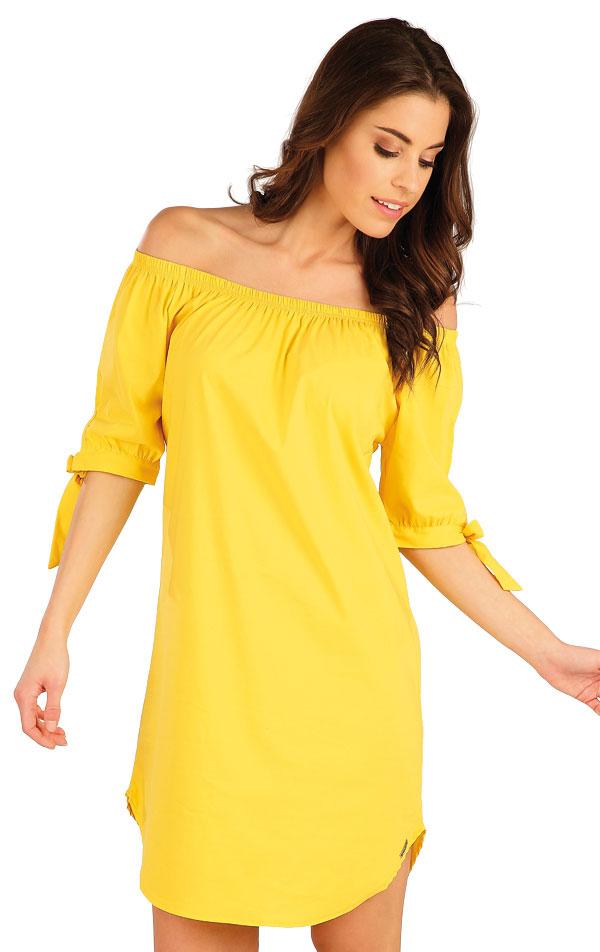 Šaty dámske s krátkym rukávom. 5A090 | Šaty, sukne, tuniky LITEX