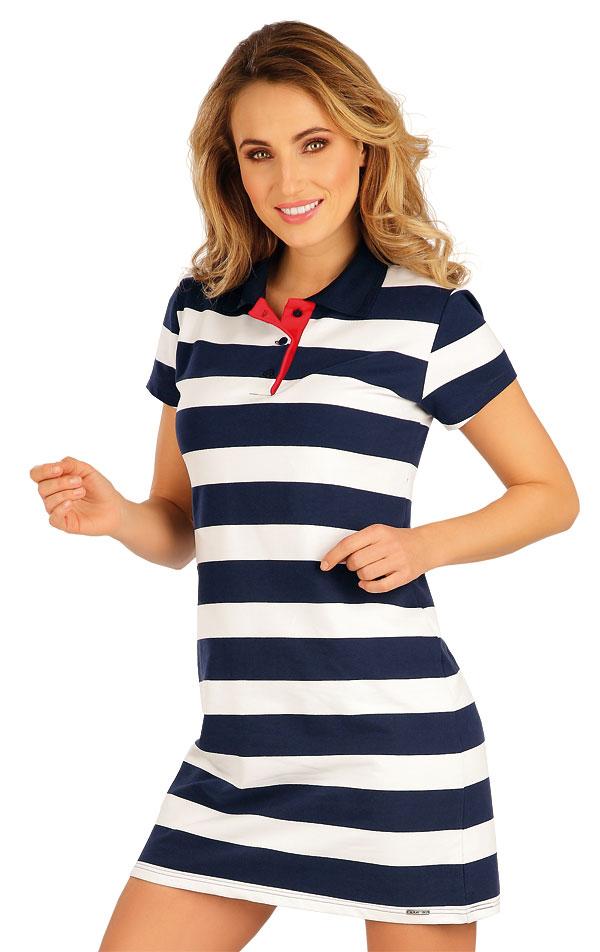 Šaty dámske s krátkym rukávom. 5A096 | Šaty, sukne, tuniky LITEX