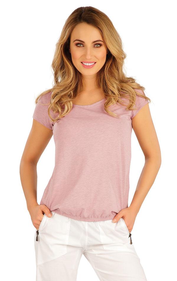 Tričko dámske s krátkym rukávom. 5A104 | Tielka, trička, halenky LITEX