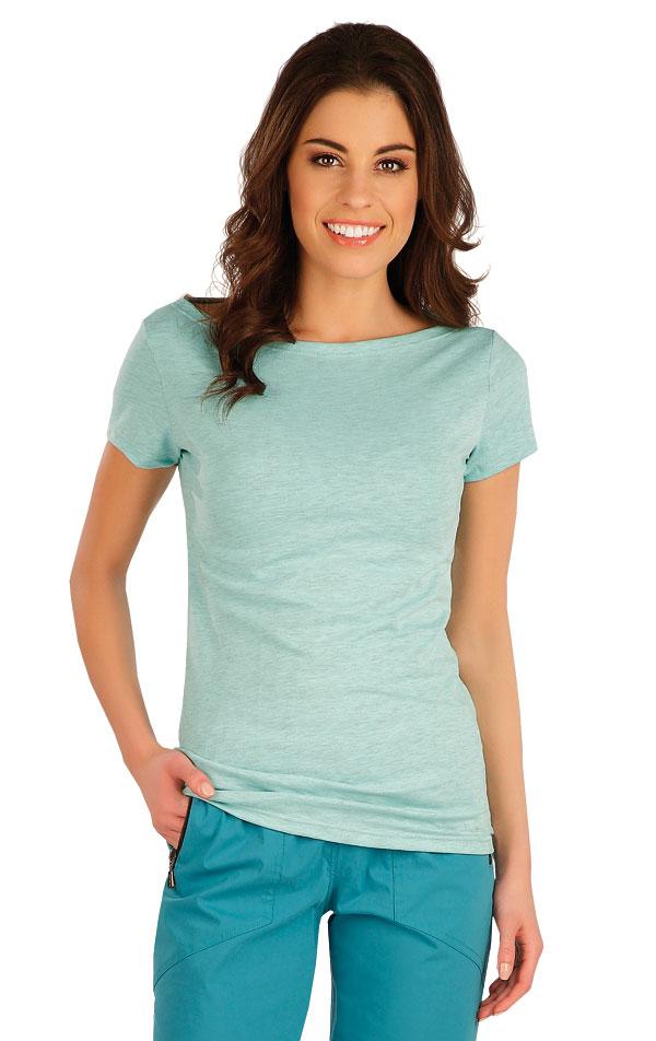 Tričko dámske s krátkym rukávom. 5A106 | Tielka, trička, halenky LITEX