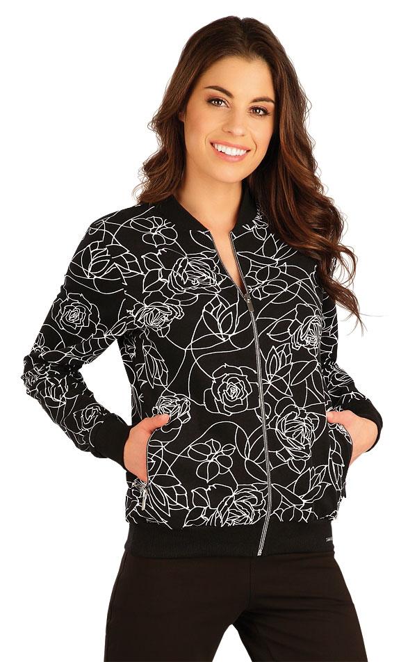 Mikina dámska na zips. 5A108 | Bundy, vesty, kabátiky LITEX