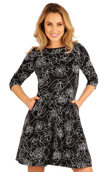 Šaty a sukne > Šaty dámske s 3/4 rukávom. 5A113